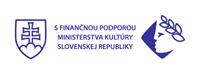S finančnou podporou Ministerstva kultúry SR