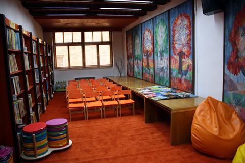 Renovácia oddelenia literatýry pre deti a mládež vďaka podpore z verejných zdrojov Fondu na podporu umenia
