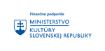 Finančne podporilo Ministerstvo kultúry SR