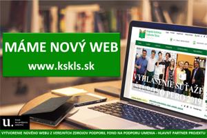Nový web Krajskej knižnice Ľudovíta Štúra vo Zvolene