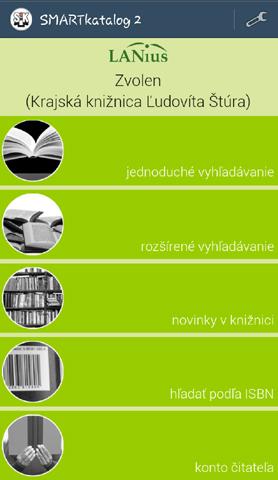 Smartkatalóg krajskej knižnice