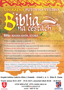 Pozvánka na výstavu Biblia na cestách