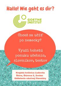 Ponuka kníh z Goetheho inštitútu v oddelení náučnej literatúry