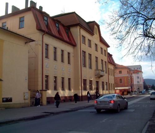 Budova knižnice